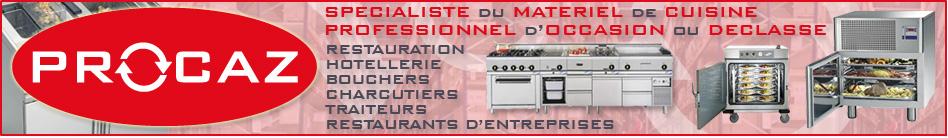 procaz - matériel de cuisine professionnel d'occasion et déclassé ... - Materiel De Cuisine Professionnel Belgique